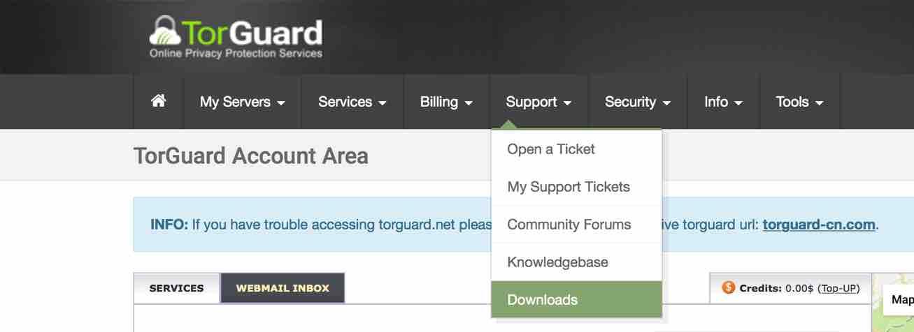 Download TorGuard