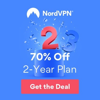 Get the best deal on NordVPN.