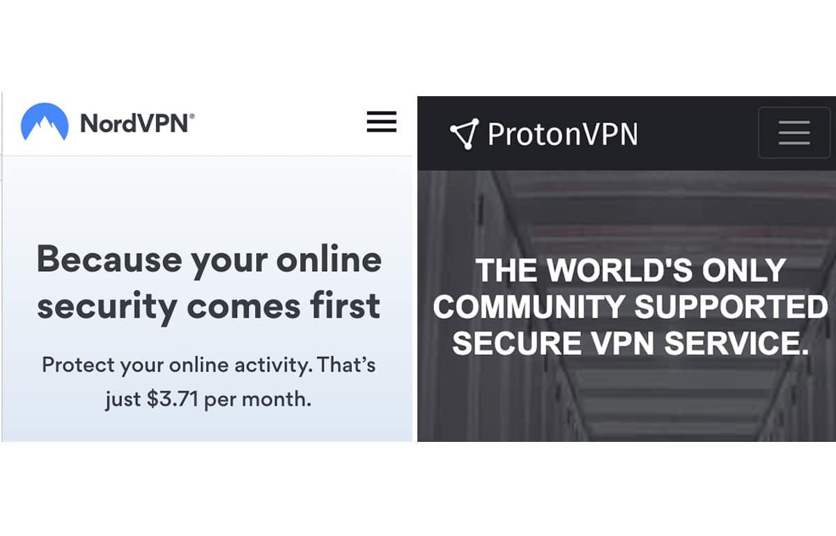 NordVPN vs ProtonVPN