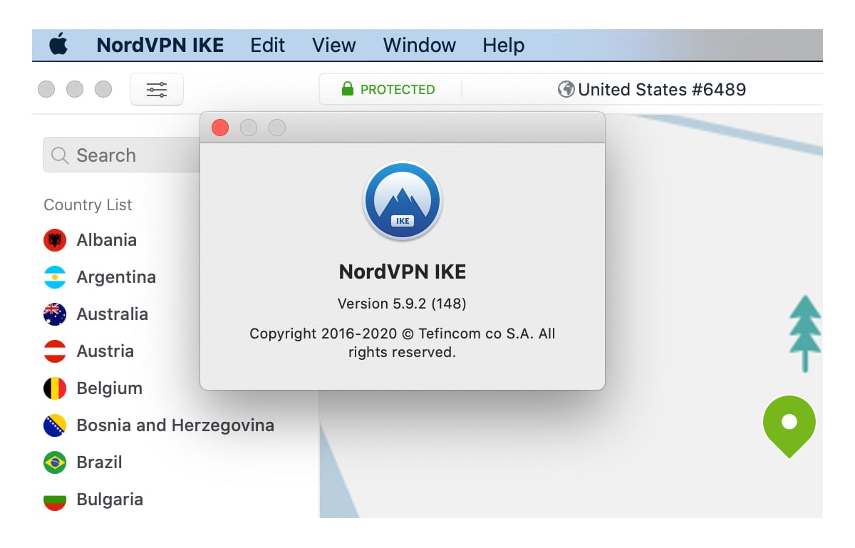 NordVPN IKE Version 5.9.2