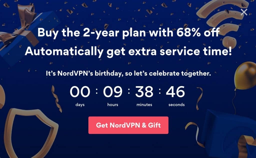 Get the best price on the NordVPN 2-year plan.