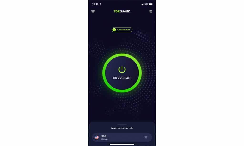 Check out the new Torguard VPN app for iOS
