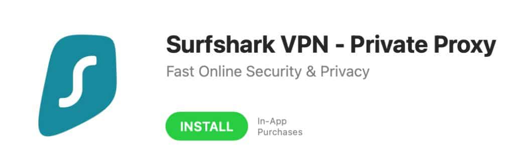 """Click the """"INSTALL"""" button to install the app."""