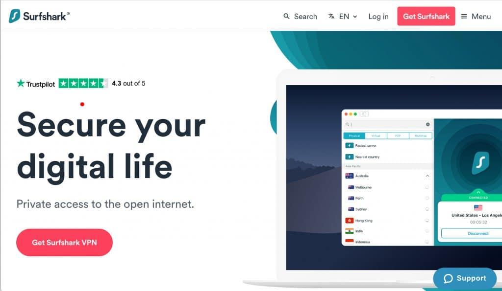 Get Surfshark VPN right now
