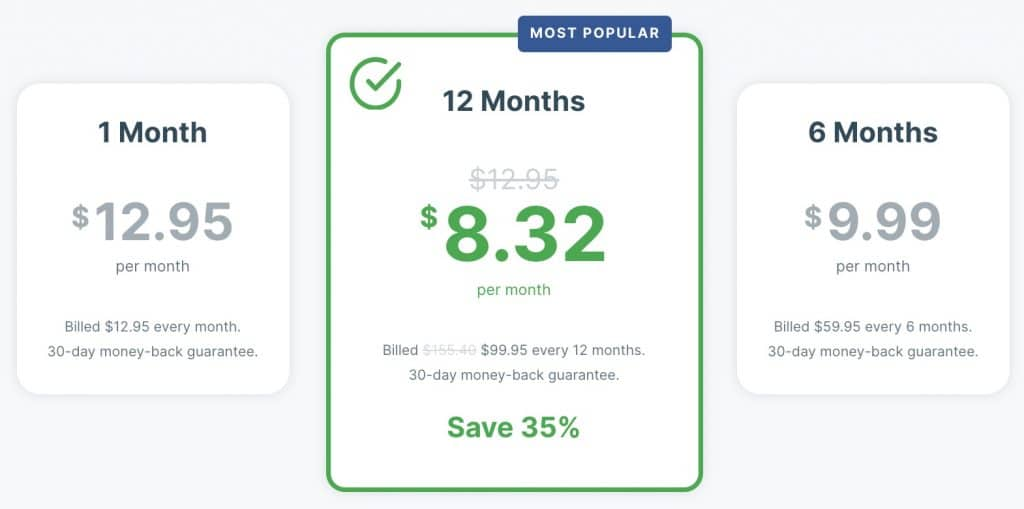 ExpressVPN costs about double the price of NordVPN.