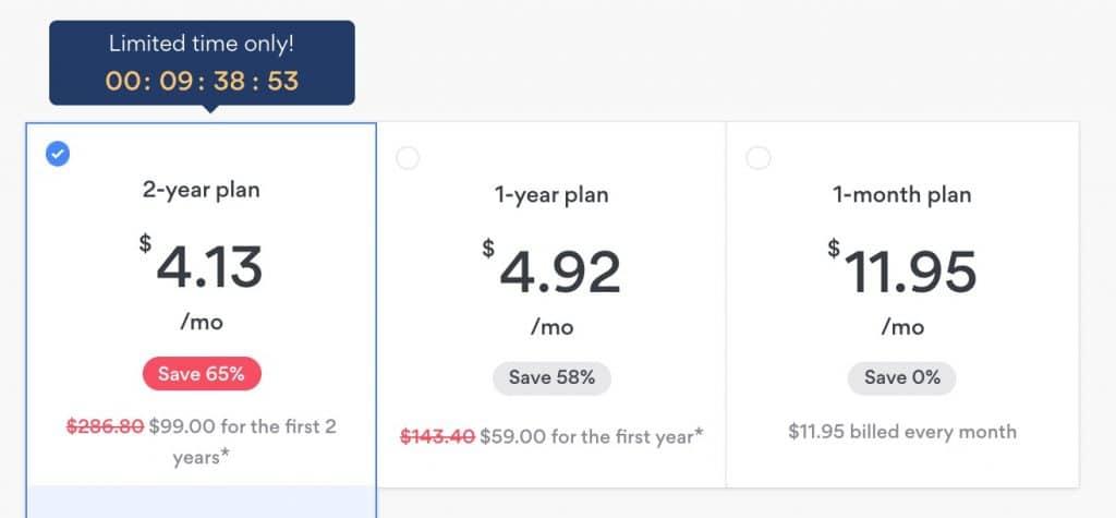 Get NordVPN to save money.
