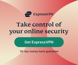 Take control over your online security with ExpressVPN.