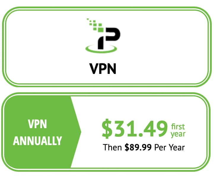 IPVanish offers an introductory special price.